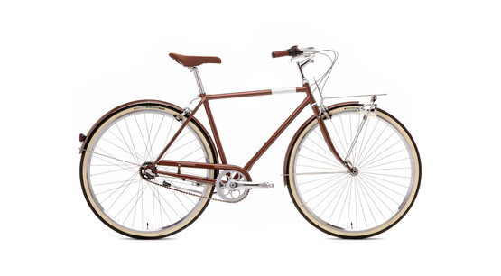 Creme Caferacer Men Solo 3-speed dark brown